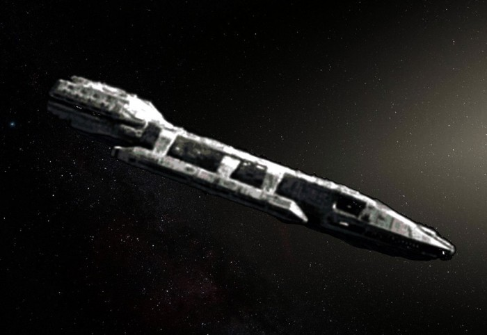 The mysterious object of Oumuamua could be an alien spaceship (photo) 37