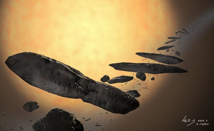 The mysterious object of Oumuamua could be an alien spaceship (photo) 39