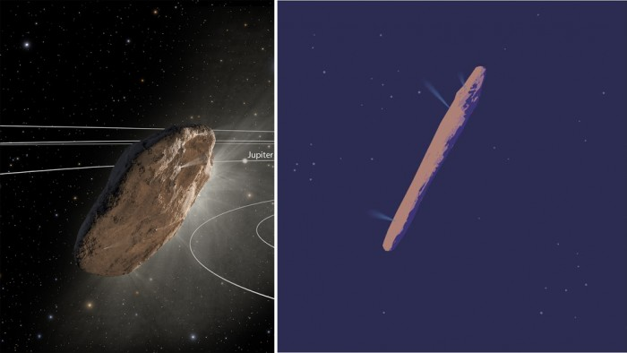 The mysterious object of Oumuamua could be an alien spaceship (photo) 34