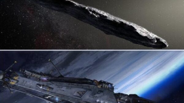 The mysterious object of Oumuamua could be an alien spaceship (photo) 42