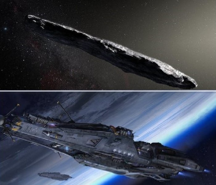 The mysterious object of Oumuamua could be an alien spaceship (photo) 31