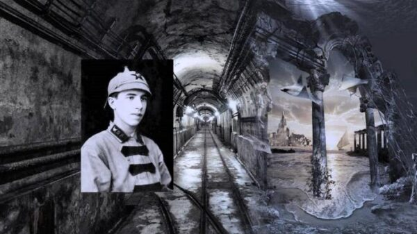 The mystery of Atlantis in a mysterious Nazi bunker 22