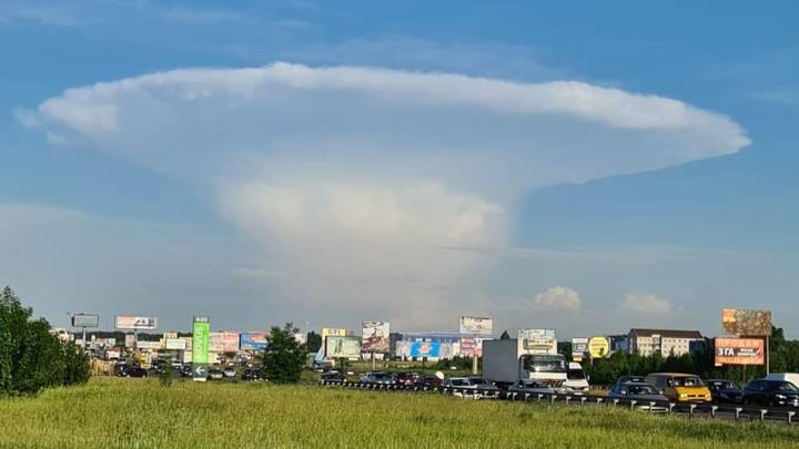 "Mysterious ""nuclear mushroom"" cloud near Chernobyl caused panic 40"