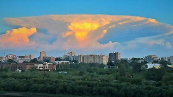 "Mysterious ""nuclear mushroom"" cloud near Chernobyl caused panic 20"