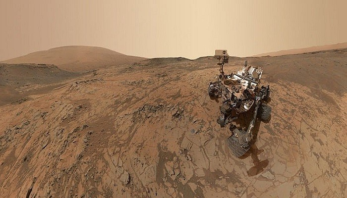 """Specialist says that the rover curiosity has found """"fossils"""" on Mars 38"""