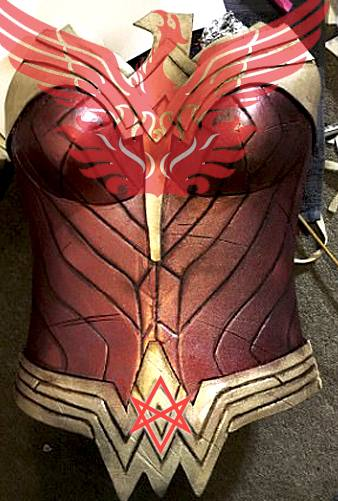 The Wonder Woman costume, her relationship with a religion called Thelema and the goddess Ishtar 67