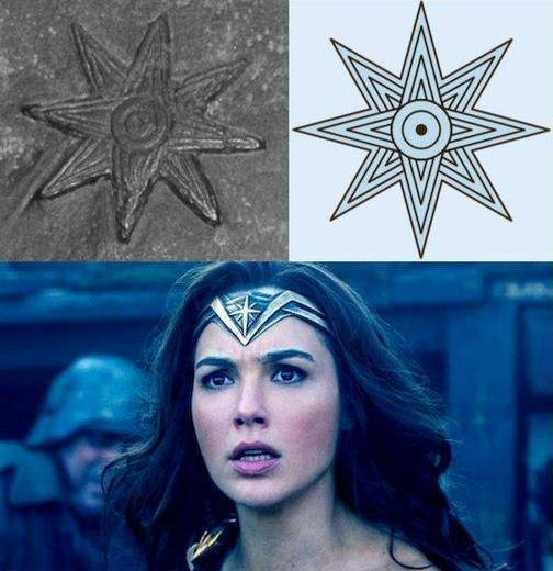The Wonder Woman costume, her relationship with a religion called Thelema and the goddess Ishtar 70