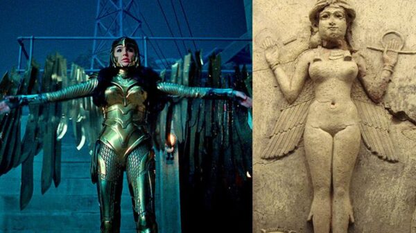 The Wonder Woman costume, her relationship with a religion called Thelema and the goddess Ishtar 8