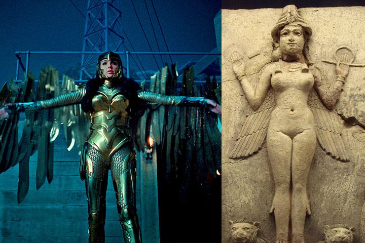 The Wonder Woman costume, her relationship with a religion called Thelema and the goddess Ishtar 59