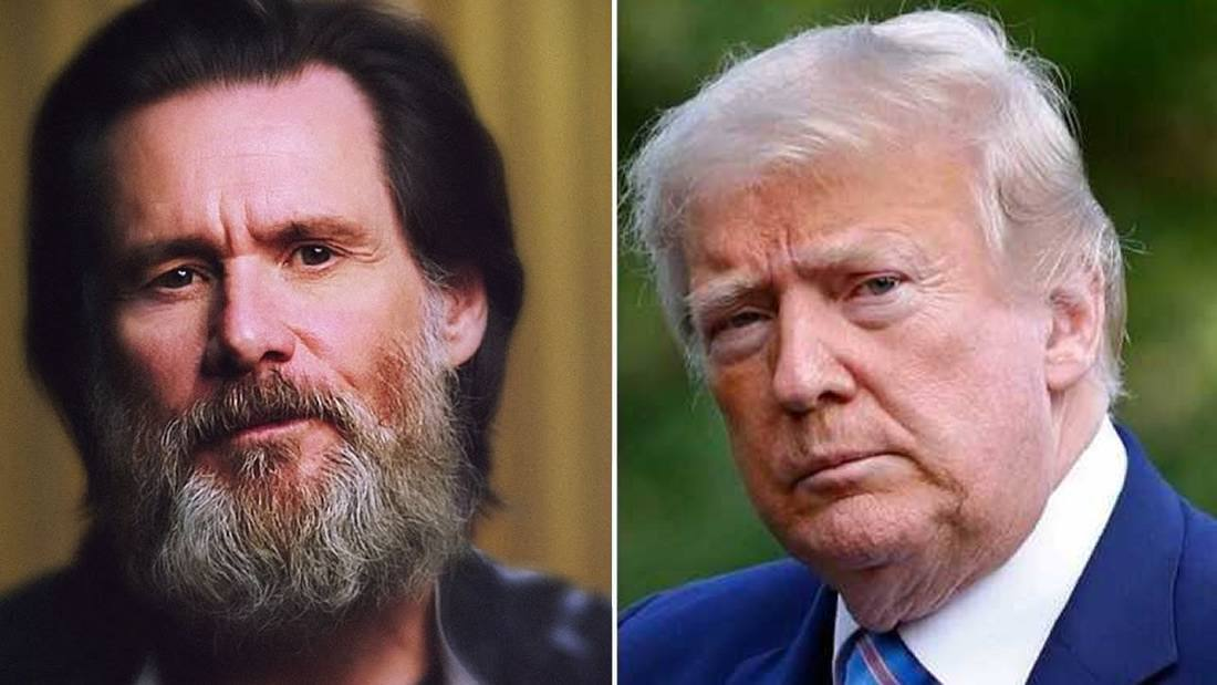"""Jim Carrey says: """"Trump could be the first American president to defect"""" 31"""