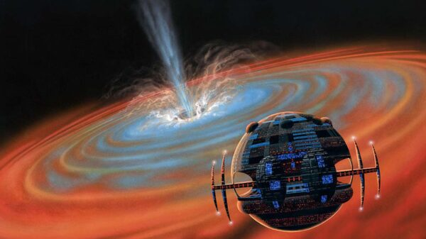 Scientists confirm that extraterrestrial civilizations use black holes to generate energy 2