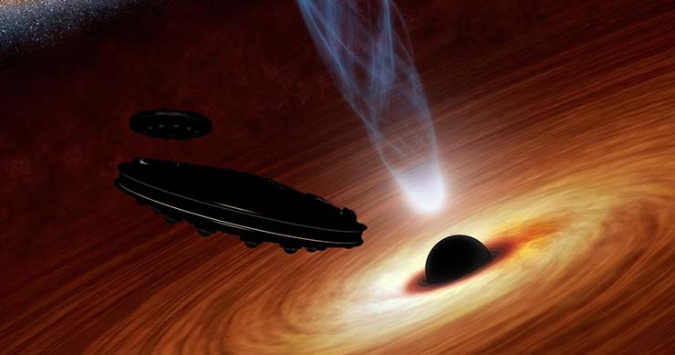 Scientists confirm that extraterrestrial civilizations use black holes to generate energy 33