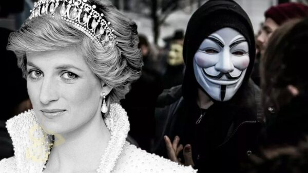 Anonymous reappears to reveal Epstein's blacklist and why Lady Di was killed 6