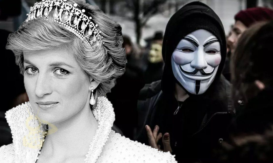 Anonymous reappears to reveal Epstein's blacklist and why Lady Di was killed 31