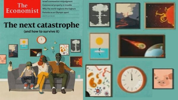 "The ""sinister prediction"" of The Economist: The next catastrophe 50"