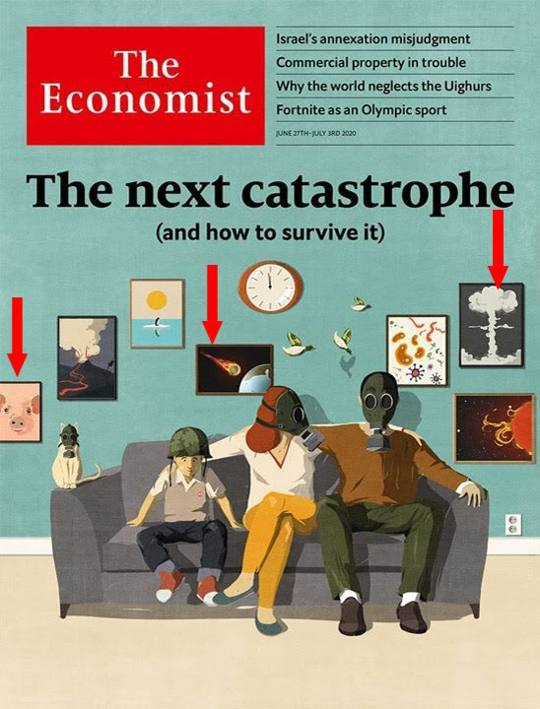 Something Big is coming ... Cover The Economist: «The next catastrophe»
