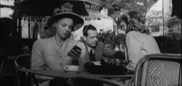 "Old 1947 French movie predicted ""cell phones"" and other modern technology! 31"
