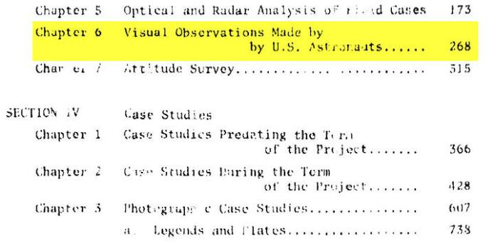 Astronaut sightings removed from government UFO study