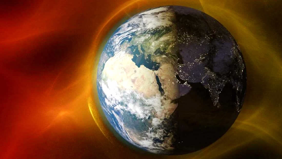 Earth's magnetic field moves ten times faster than previously thought 34