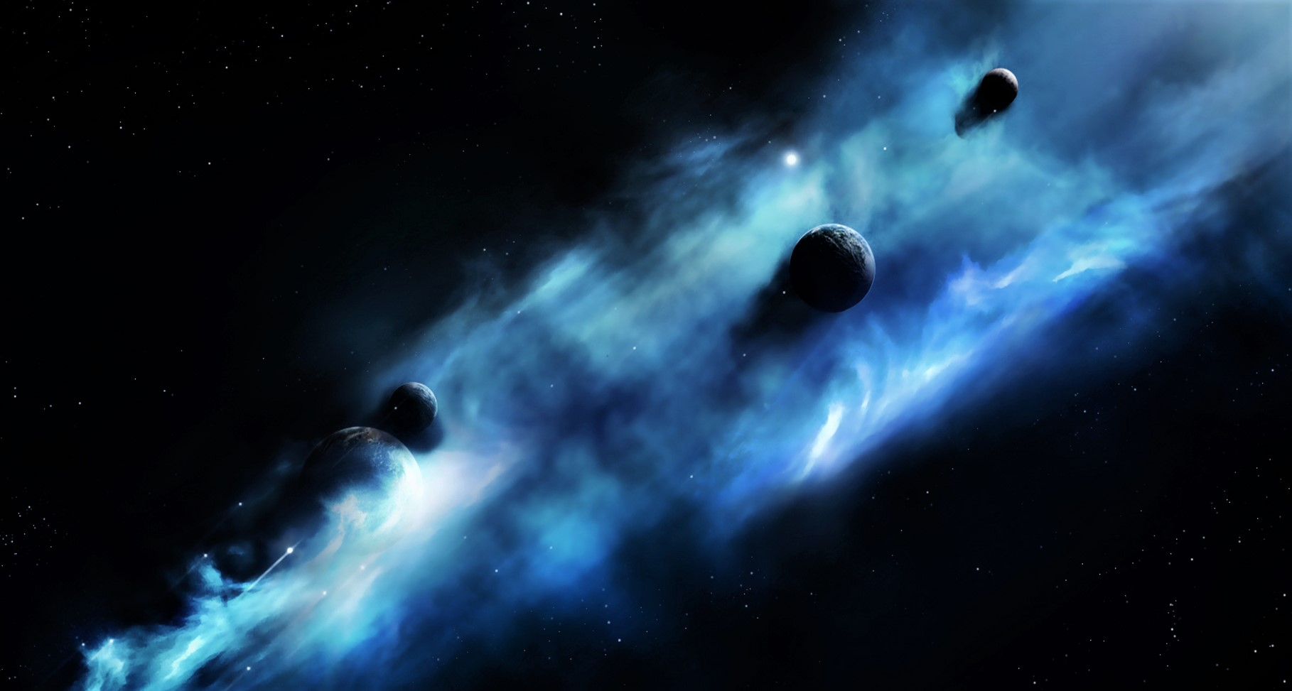 Four mysterious objects are detected in deep space and scientists don't know what they are 35