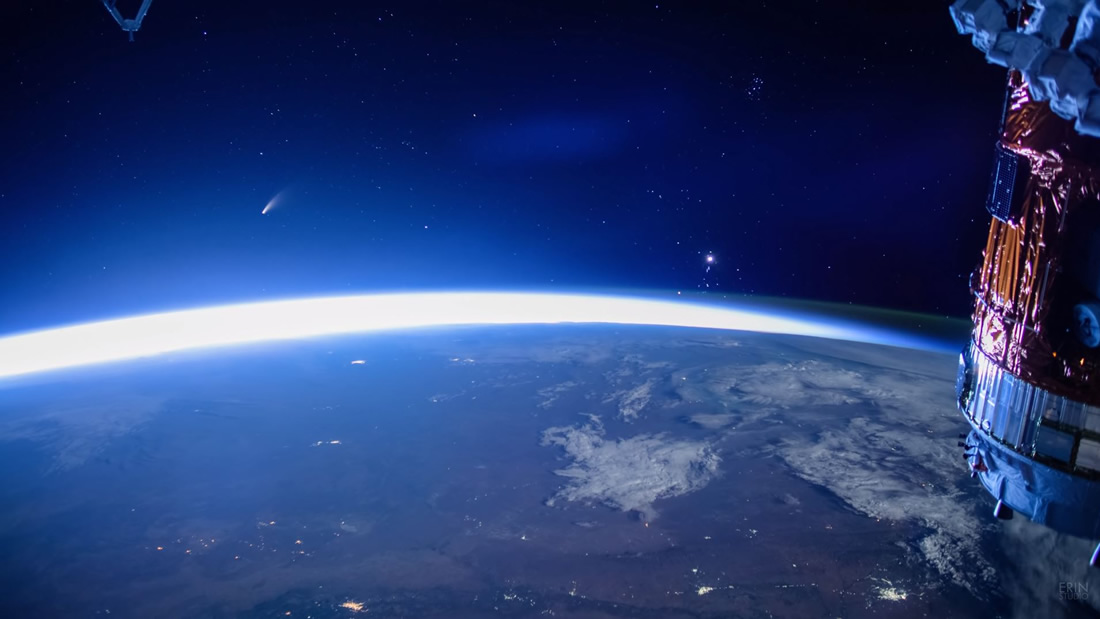Watch Comet NEOWISE from space in stunning 4K VIDEO 31