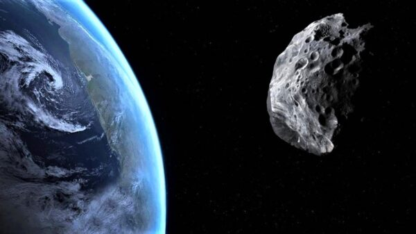 Asteroid will pass 5 times less than the moon in September 96