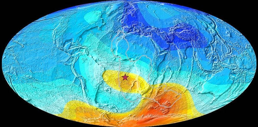 The South Atlantic anomaly has an older origin than previously thought 37