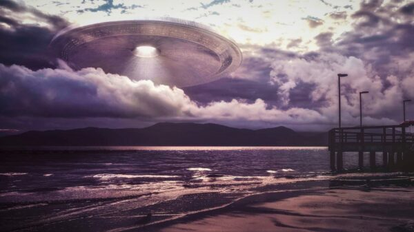 """An """"alien base"""" protects a Mexican town from hurricanes 71"""