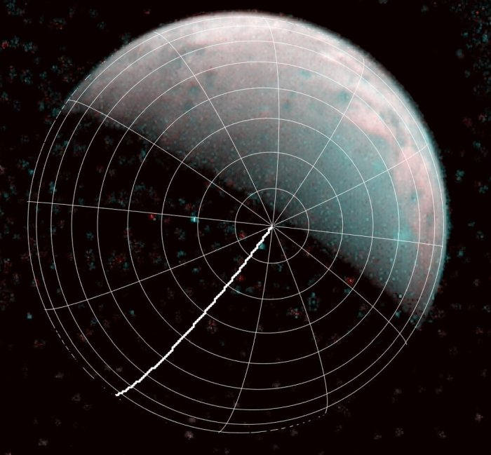 Juno sends the first images of the north pole of Ganymede, where it rains plasma 37