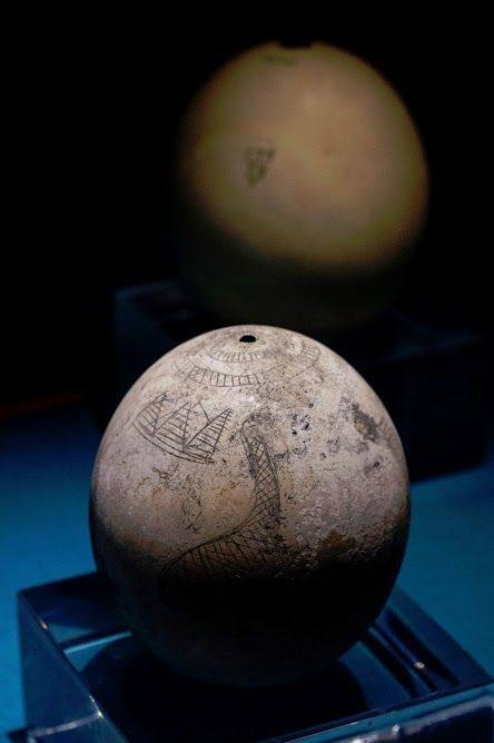 The three pyramids of Giza in an ostrich egg over 5000 years old? 43