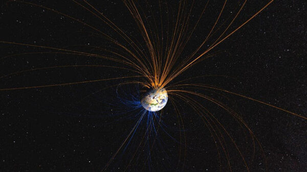 Earth's magnetic field moves ten times faster than previously thought 13
