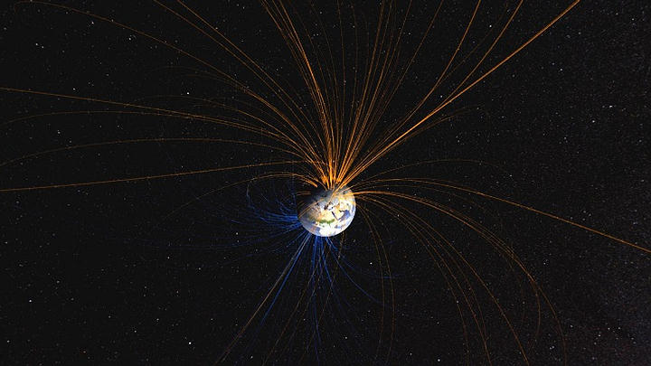 Earth's magnetic field moves ten times faster than previously thought 33