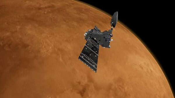 ExoMars detects ozone and carbon dioxide from the atmosphere of Mars 4