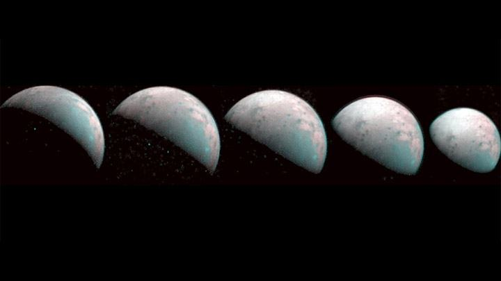 Juno sends the first images of the north pole of Ganymede, where it rains plasma 35