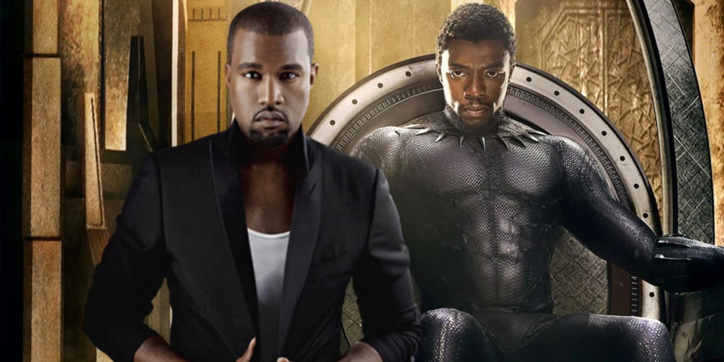 "Kanye West vows to rule the US as ""the Black Panther nation"" 34"