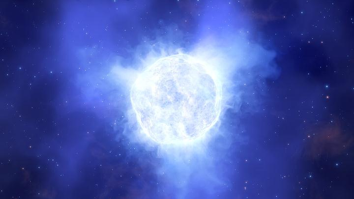 Massive star mysteriously disappears from distant galaxy 31