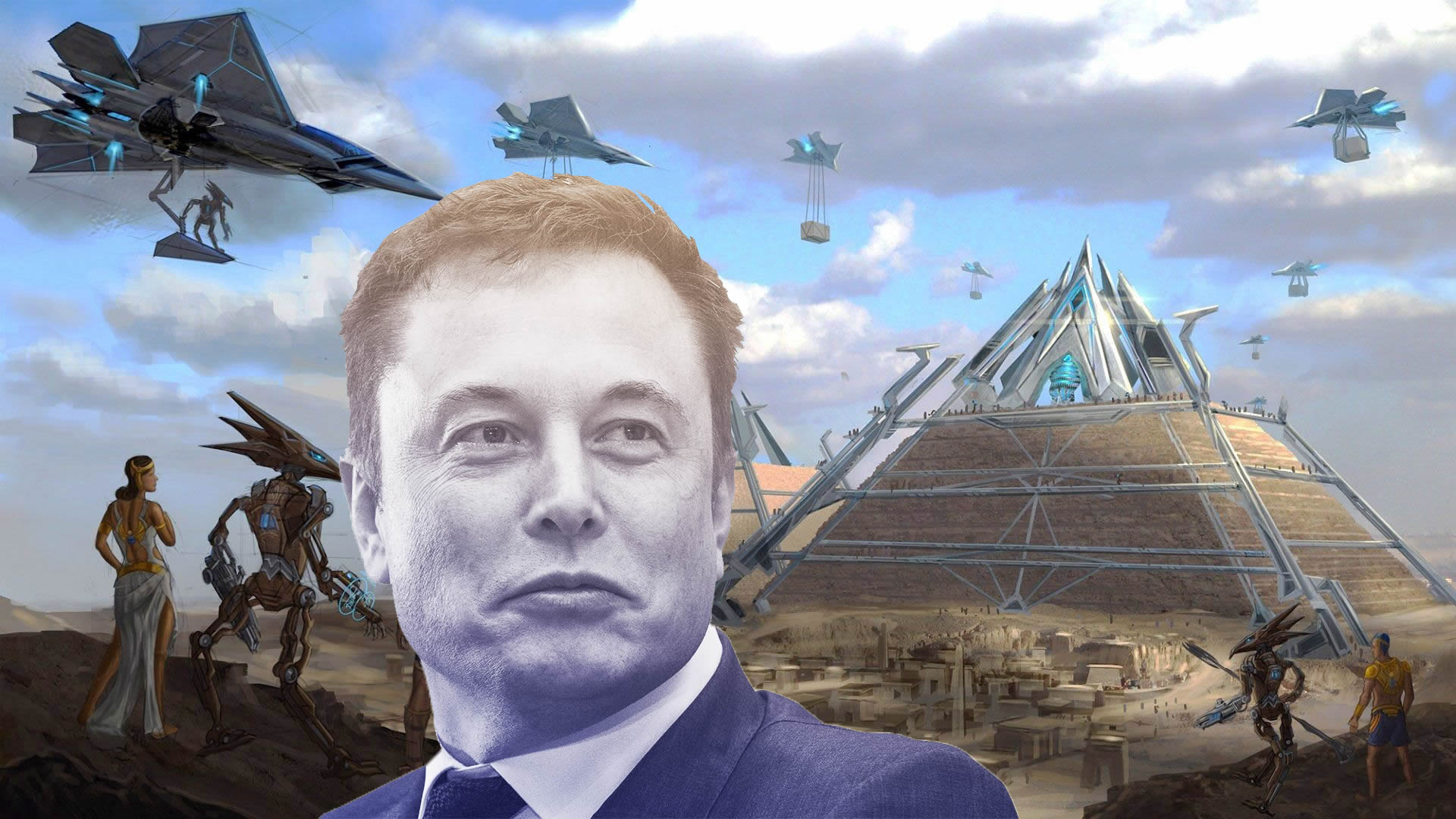 Elon Musk tweets that aliens built the pyramids 34