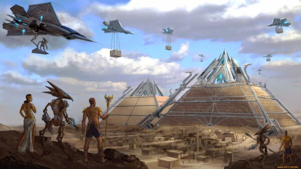 Elon Musk tweets that aliens built the pyramids 24