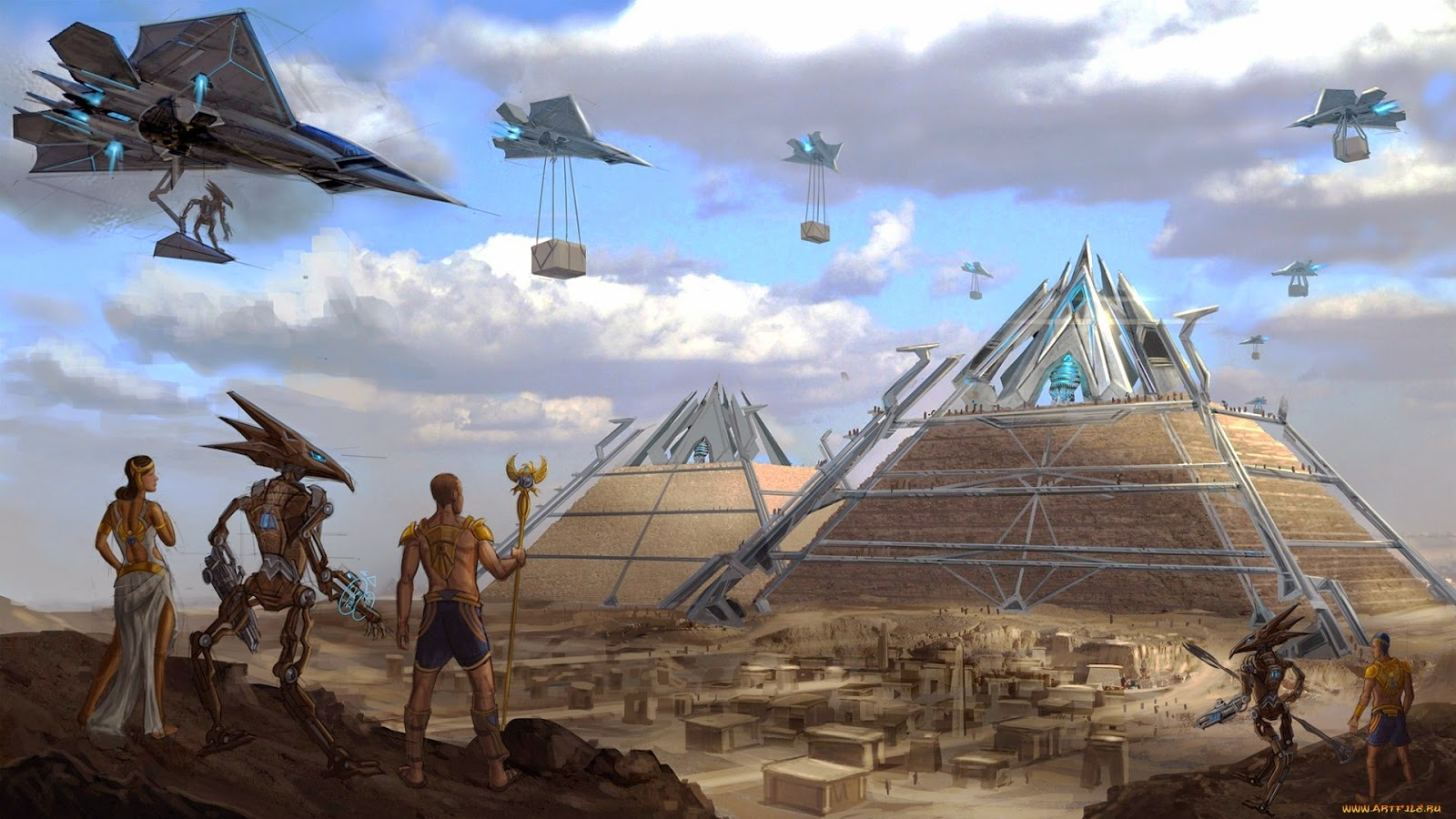 Elon Musk tweets that aliens built the pyramids 33