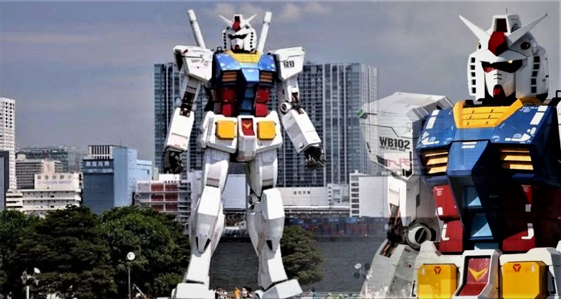 "The world's first giant robot ""begins to walk"" 33"