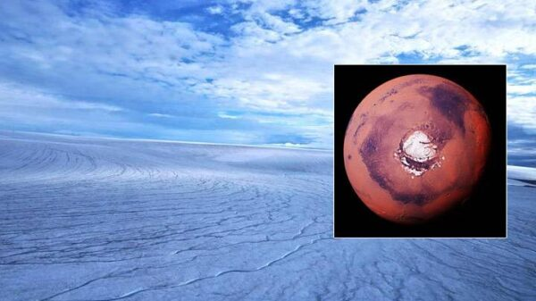 Primeval Mars was covered in ice sheets, not flowing rivers 3