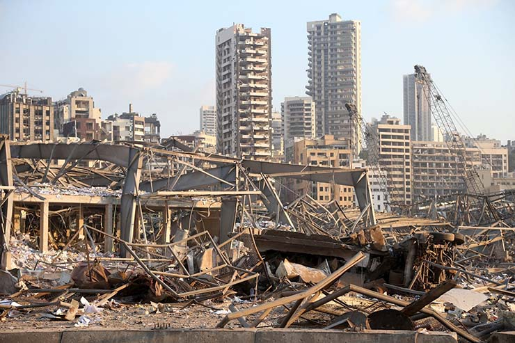 Bible prophecies explosion in Beirut - Experts warn that all biblical prophecies have been fulfilled with the devastating explosion in Beirut