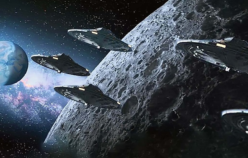 """They capture """"traffic on the Moon"""", but not from human ships 37"""