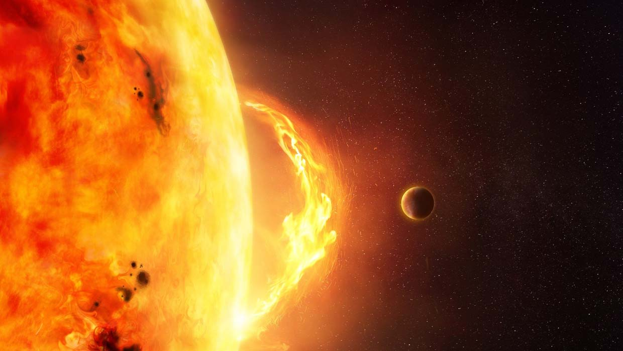 NOAA warns of the arrival of a dangerous solar storm this Thursday 31
