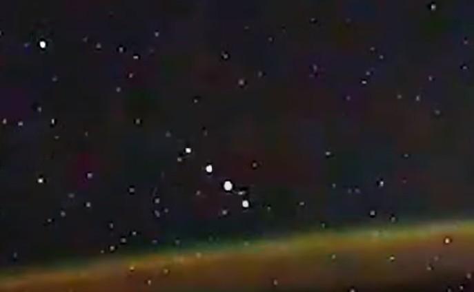 International Space Station: Cosmonaut Ivan Vagner records a UFO Fleet over the Antarctic 40