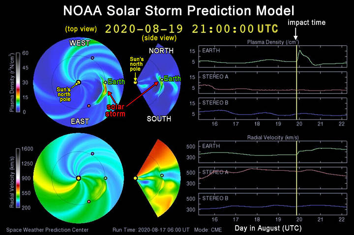 A solar storm could hit Earth between Thursday and Friday 38