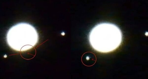 "Astronomer observes ""Alien Spaceships"" passing in front of the planet Jupiter 31"