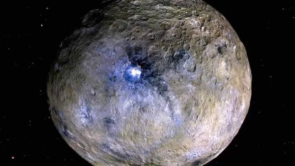 "The dwarf planet Ceres could be an ""ocean world"" under the surface 1"