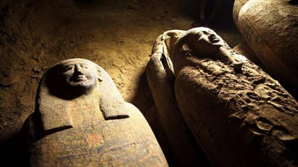 13 fully sealed 2,500-year-old coffins discovered in Egypt 11