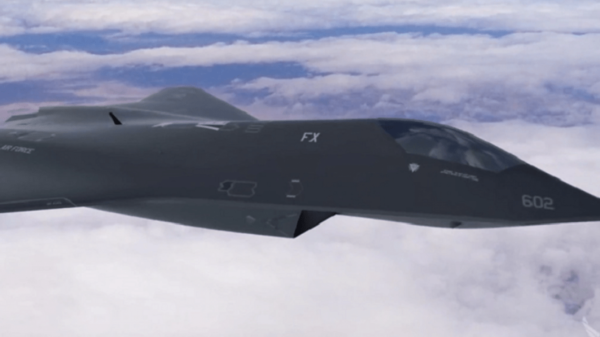 Secret revealed!  U.S. Air Force tests new 6th generation fighter 18